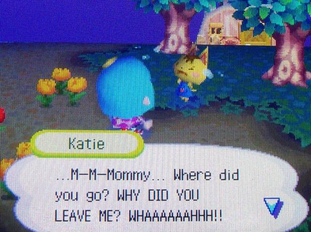 Poor Katie