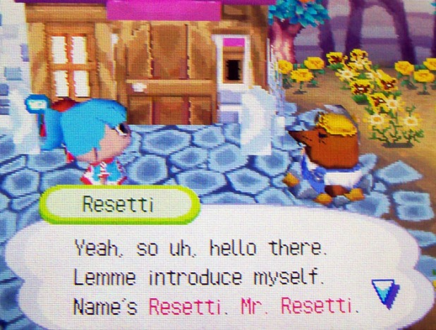 Meeting Resetti