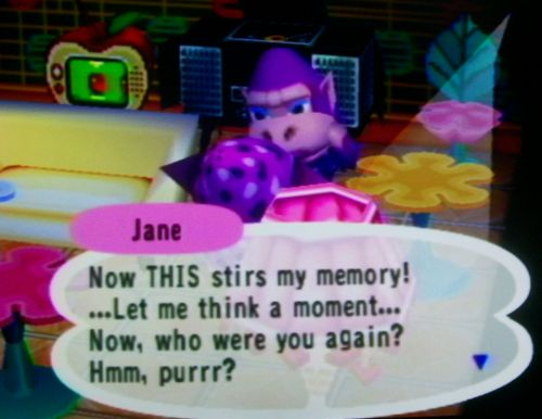 Jane doesn't remember me