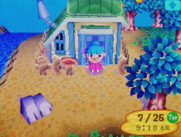 Kiki's riverside house