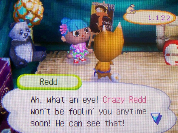 Crazy Redd has a mama panda plush
