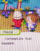 Harmony getting something from Pascal