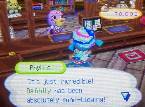 Phyllis says Dafdily is a perfect town still despite the party changes