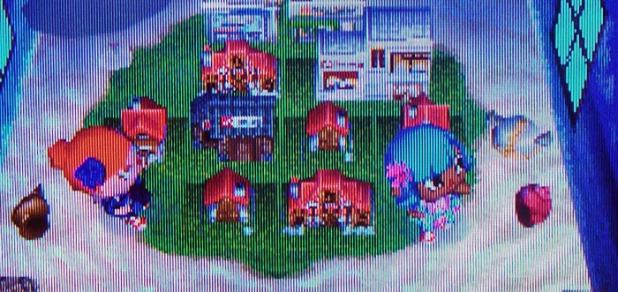 Teru's town-model room