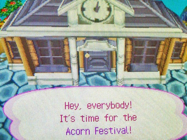 Hey, everybody! It's time for the Acorn Festival!