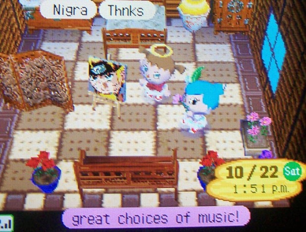 An exotic bedroom in Usagi's house
