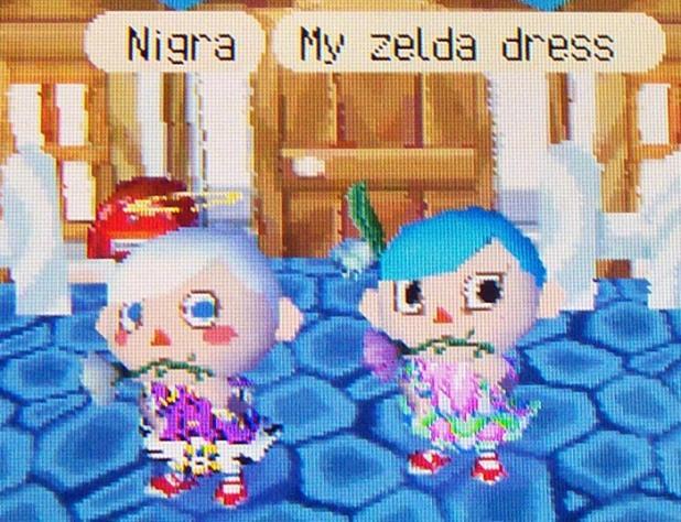 Usagi's Zelda dress