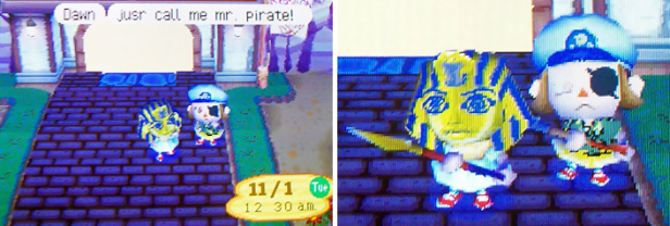 Dawn: just call me Mr. Pirate!