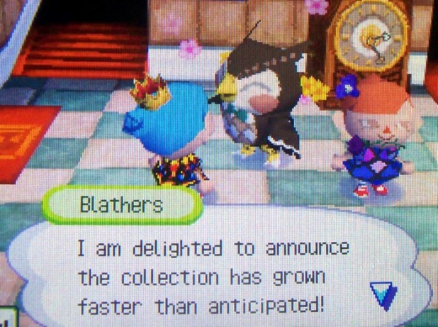 Blathers: I am delighted to announce the collection has grown faster than anticipated!