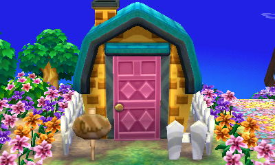 Villager house exteriors in AC: New Leaf | A Forest Life