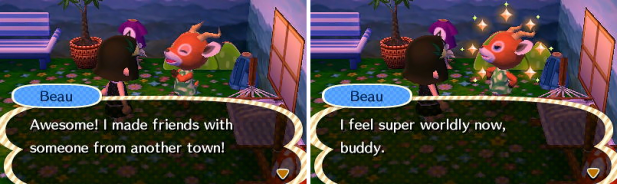 Meeting Beau in Windfall