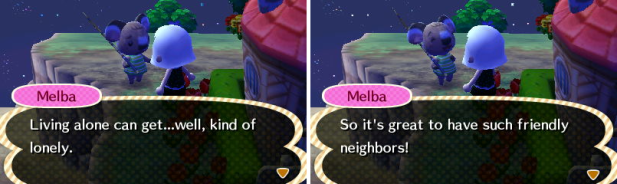 Melba thankful for her neighbors making her less lonely