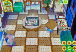 Melba's house in Wild World