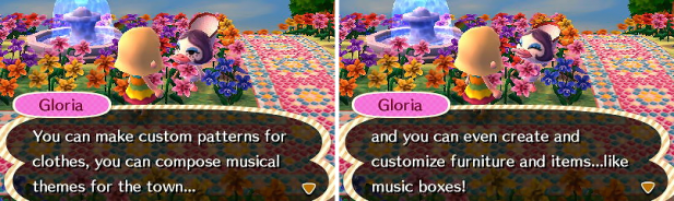 Gloria talking about customization
