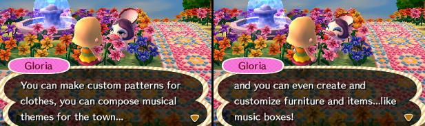 Gloria talking about customization