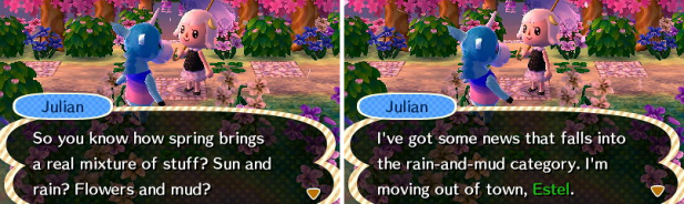 Julian thinking about moving