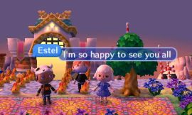 Acnl wifi a forest life the time to greet each other and soak in the special moment of the three of us meeting up again after years of being friends through animal crossing m4hsunfo Images