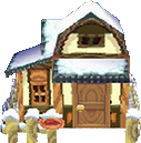 Maple's house exterior