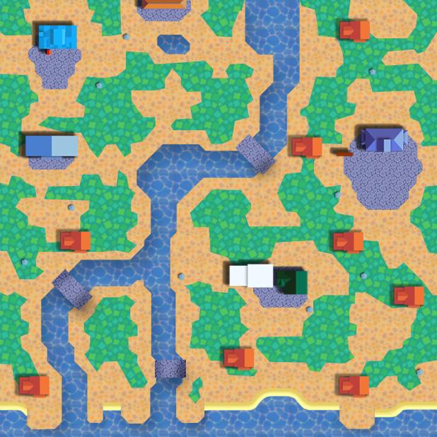 Dafdilly Map by Teru