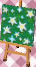 star flowers: dense