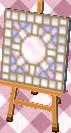 full moon mosaic tile