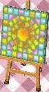 sun mosaic tile (grass)