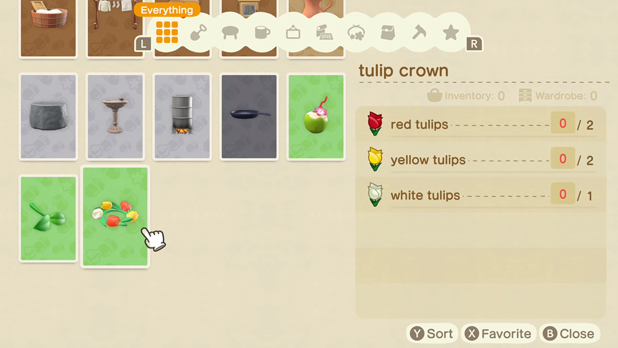 DIY Recipe for a tulip crown