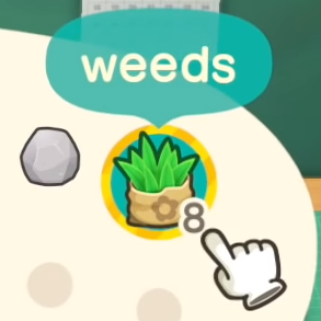 Stackable weeds