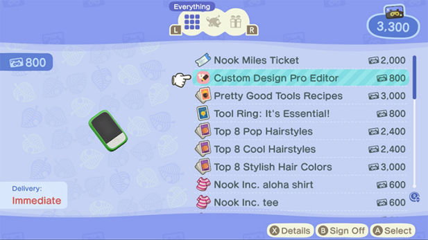 Custom design pro editor
